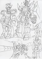 Brave Concept: Bronzaur Rex by BlueIke