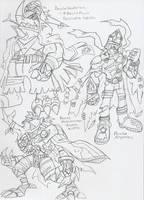 DGMN: Bancho Digimon 2 by BlueIke