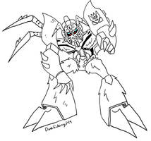 TFA: Organic Optimus/Tarantulas(?) by BlueIke