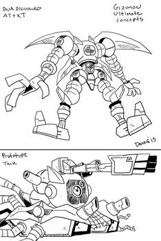 DGMN: Gizumon Ultimate Concept