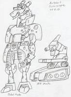 TF_RiD: Autobot Gyroscope concept by BlueIke