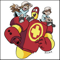 Ozzy and Drix: Cells at Play