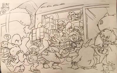 DZ: Boxcar Christmas by BlueIke
