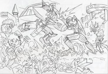 DZ02: High Grade Battle for Destiny (Stones) by BlueIke