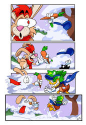 Commish: All's Fair in Ducks and Snowfall END by BlueIke