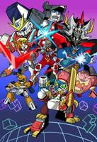 Commish: Super Robot Wars Concept