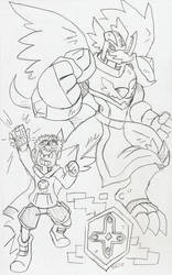 DZ: Davis and DinoAngemon Redux!