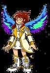 Commish: Angel Warrior OC