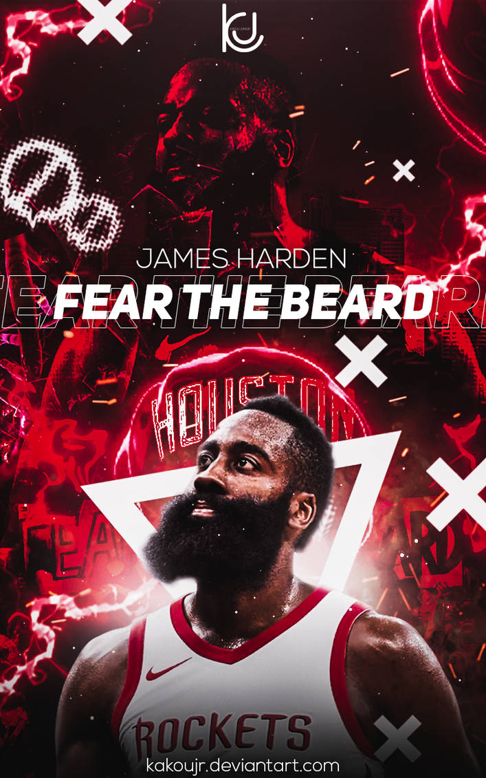 James Harden Wallpaper (poster) by kakoujr ...