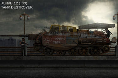 Junker 2 Tank Destroyer by KevinTinierme