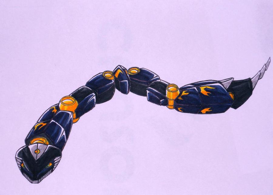 BUSHIDO snake by kishiaku