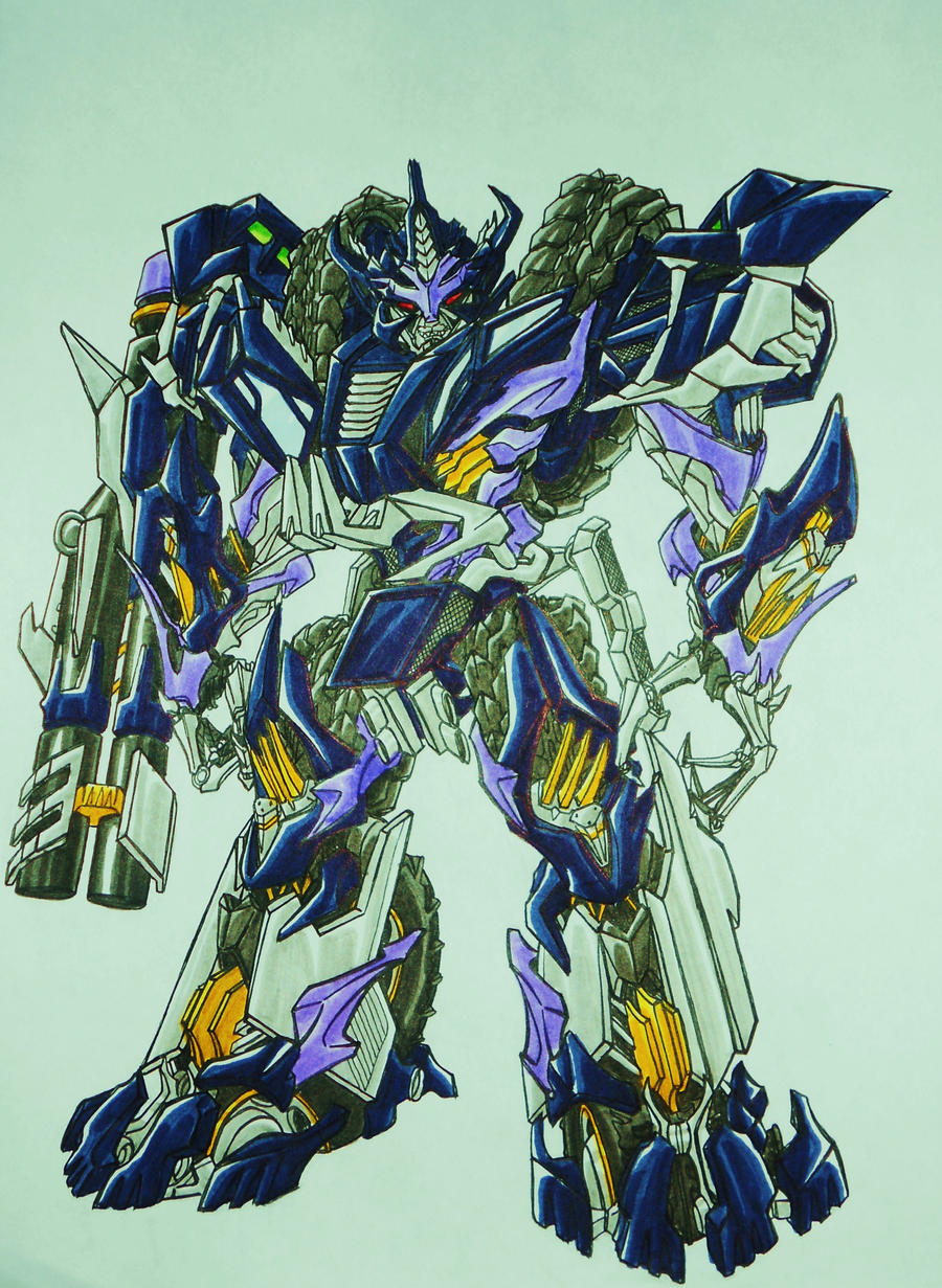 BFTE GALVATRON, after DOTM... by kishiaku