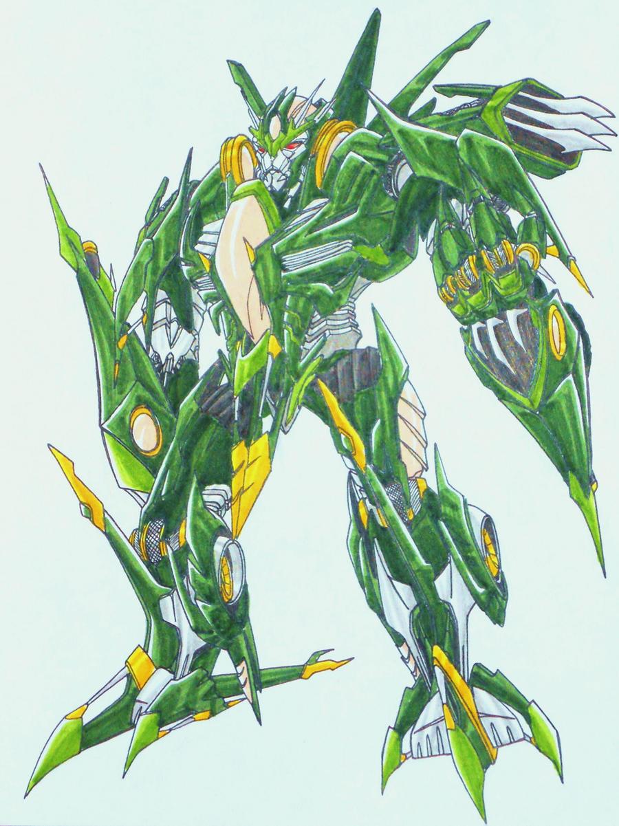 BFTE SKYQUAKE, decepticon leader by kishiaku