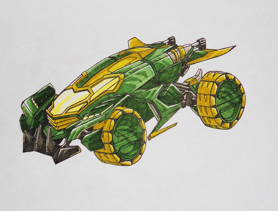 BFTE Sergent KUP alt mode by kishiaku