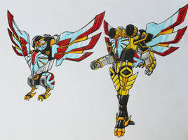 ONIRANGERS part 3: ONI OWL armament.