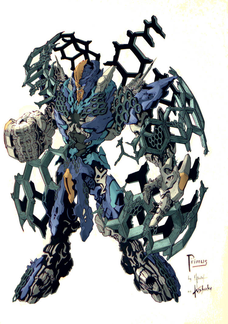 BFTE PRIMUS... colored by BLITZ-WING!!! by kishiaku