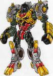 LINKMASTER GRIMLOCK robot mode