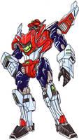 LINKMASTER STAR SABER robot mode, the other leader by kishiaku