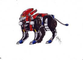 Optimus Lion version 1 from TFCyb by kishiaku