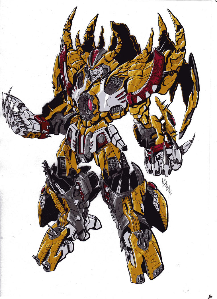 Transformers 4 Unicron 2D Artwork: - T...