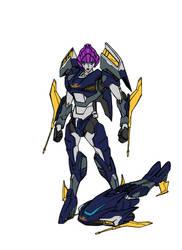 TF Cyb lieutenant  Arcee by kishiaku
