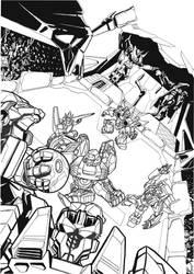 Tf Cybertronians Page 1 Ink by kishiaku