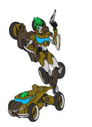 TFCyb Moonracer by kishiaku