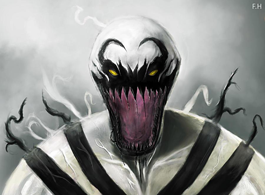 Anti Venom Wallpaper Rawr By Punkup