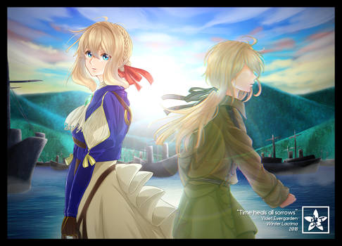 Violet Evergarden - Time heals all sorrows