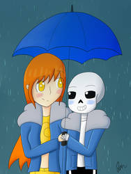 Raining Somewhere Here by CitrineYellow555