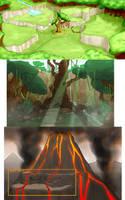 Environment Concepts by AustinAlander