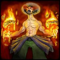 Fire Mage concept by AustinAlander