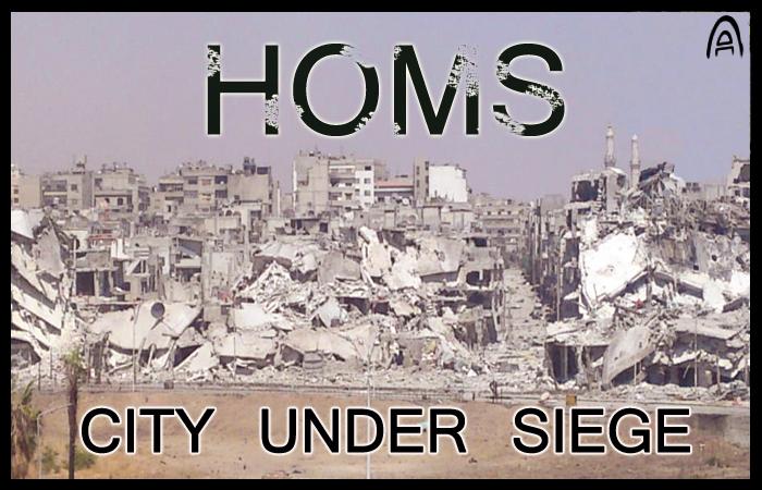 homs...city under siege