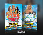 Beach / Pool Party Flyer