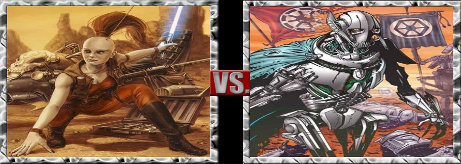 Vs. Series-Aurra Sing vs. General Grievous by SSJ4Truntanks