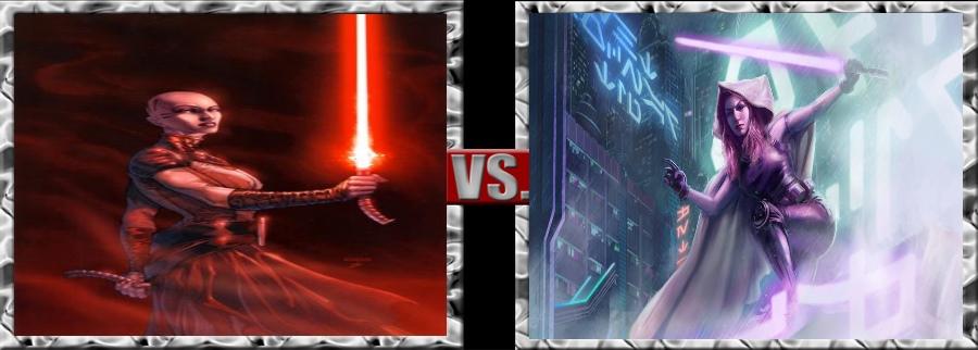Vs. Series-Asajj Ventress vs. Mara Jade by SSJ4Truntanks