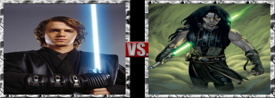 Vs. Series-Anakin Skywalker vs. Quinlan Vos by SSJ4Truntanks