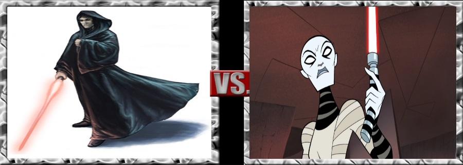 Vs. Series-Xanatos vs. Assajj Ventress by SSJ4Truntanks