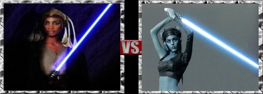 Vs. Series-Adi Gallia vs. Aayla Secura by SSJ4Truntanks