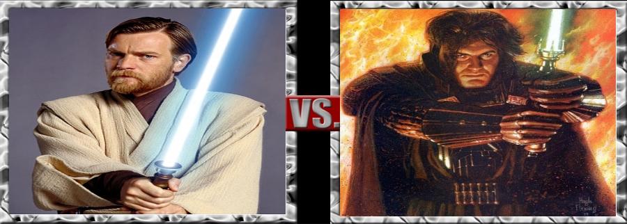 Vs. Series-Obi-Wan Kenobi vs. Ulic Qel-Droma by SSJ4Truntanks
