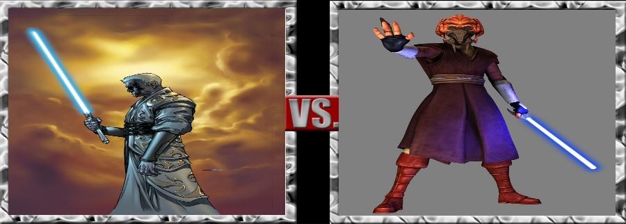 Vs. Series-Lucieen Draay vs. Plo Koon by SSJ4Truntanks