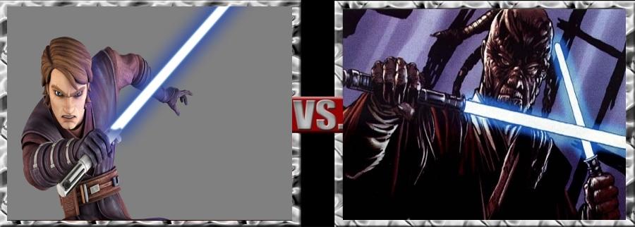 Vs. Series-Anakin Skywalker vs. Sora Bulq by SSJ4Truntanks