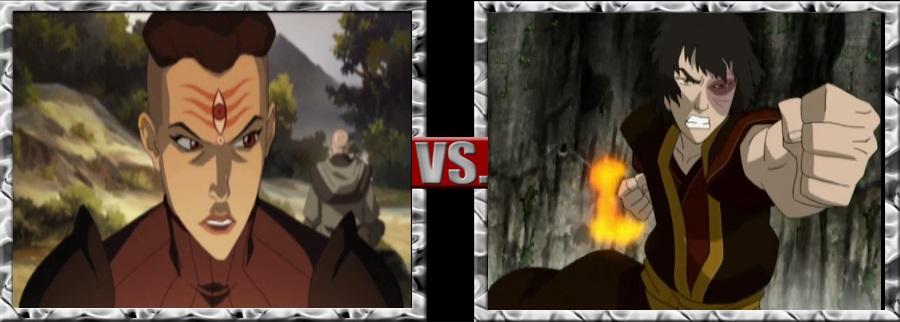 Vs. Series-P' Li vs. Zuko by SSJ4Truntanks