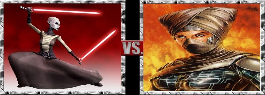 Vs. Series-Asajj Ventress vs. Lumiya by SSJ4Truntanks
