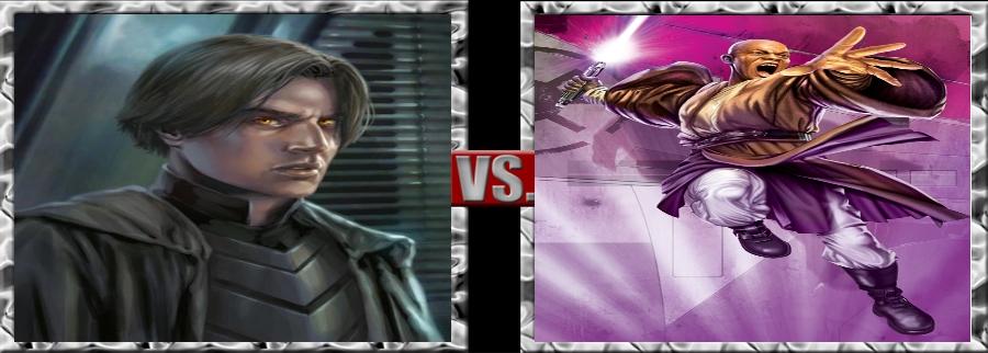 Vs. Series-Darth Caedus vs. Mace Windu by SSJ4Truntanks