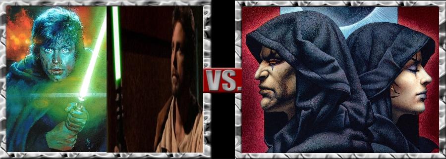 Vs. Series-Luke Skywalker and Kyle Katarn vs. Dart by SSJ4Truntanks