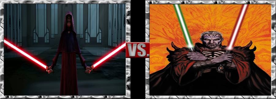 Vs. Series-Darth Sidious vs. Darth Krayt by SSJ4Truntanks