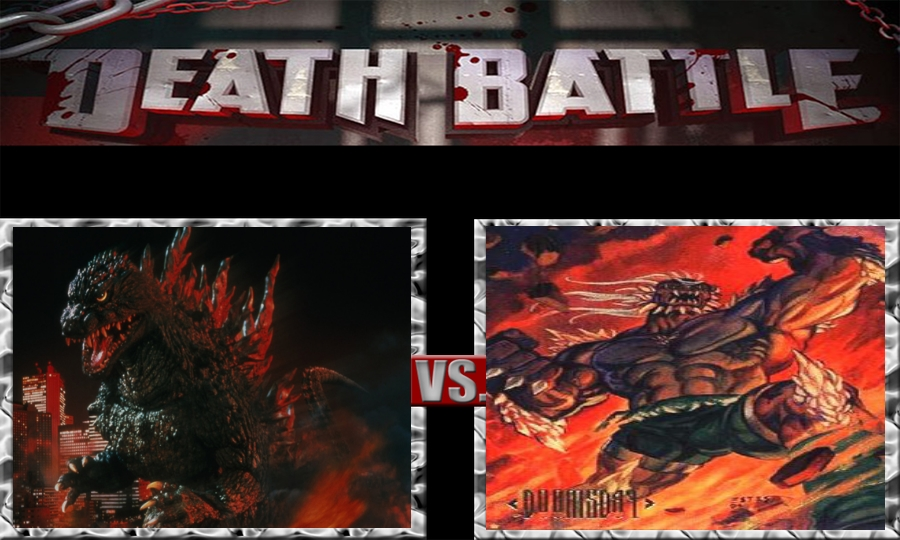 Death Battle-Godzilla vs. Doomsday by SSJ4Truntanks