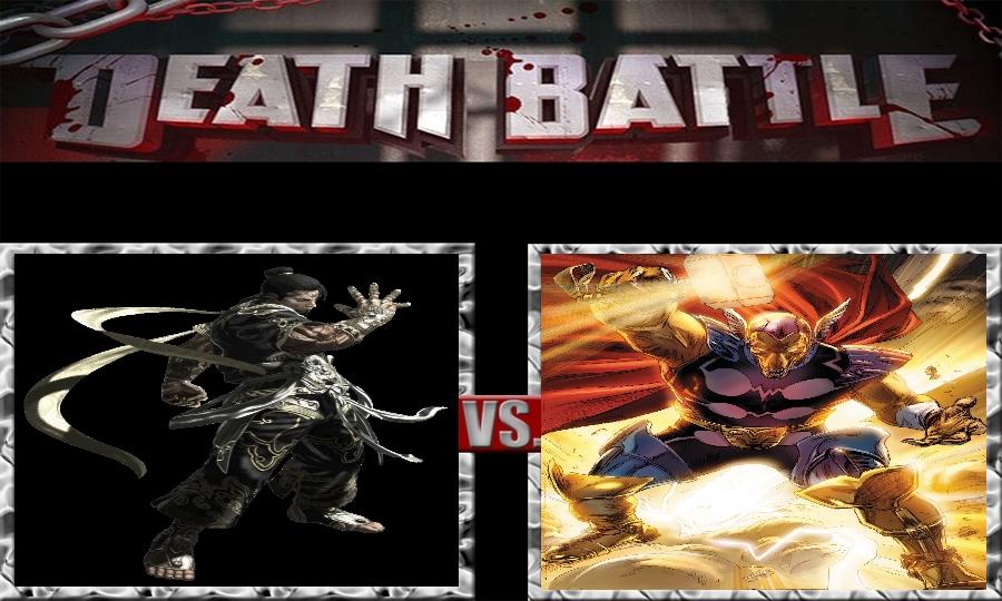Death Battle-Yasha vs. Beta Ray Bill by SSJ4Truntanks