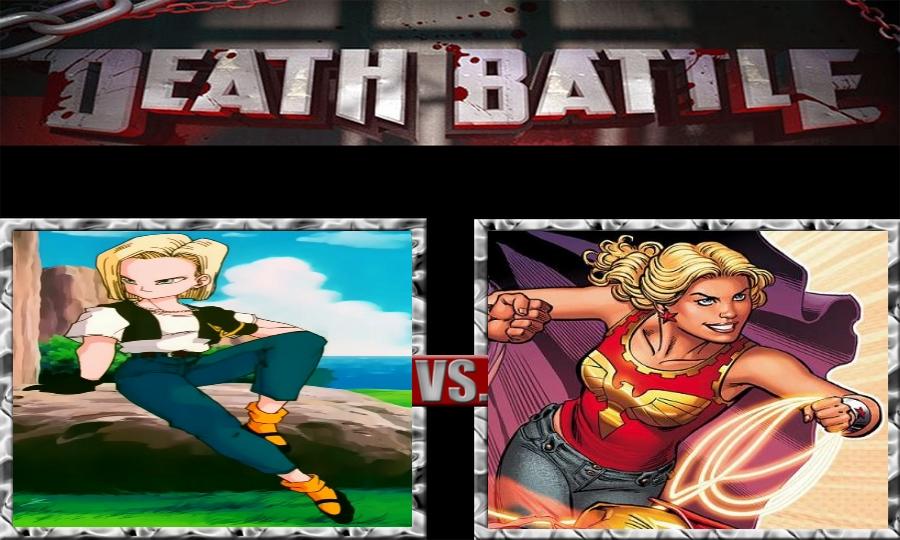 Death Battle-Android 18 vs. Wonder Girl by SSJ4Truntanks